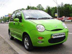Выкуп автомобилей Chery